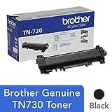 Brother Genuine Standard Yield Toner Cartridge,TN730,替换黑色碳粉,打印页数可达 1,200 页,亚马逊仪表板补充盒