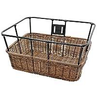 NOGUCHI(NOGUCHI) 自行车 篮子 [藤风格方形篮球 半编织] 棕色 前筐 TB-88