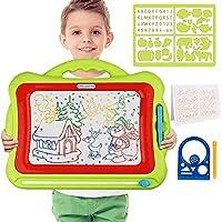 Meland 磁性画板 - 儿童 Magna 绘图涂鸦板 可擦写板 板 升级版绿色
