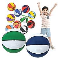 Zelica 儿童迷你篮球 7英寸(约17.8厘米)  多色  迷你篮球,儿童派对喜爱(6件装)