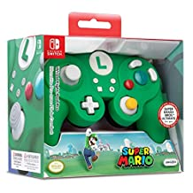 PDP 任天堂 Switch Wired Fight Pad Pro,500-100 - 任天堂开关 Luigi