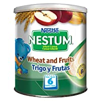 Nestle 雀巢 Nestum小麥和水果嬰兒米粉, 12件