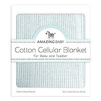 神奇宝贝 cellular 毛毯,高级棉质 Sunwashed Blue