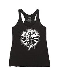 Fifth Sun Legend of Zelda Hyrule Spray 青少年工字背心上衣
