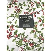 Ralph Lauren 圣诞桌布冬树松木 * 棉 152.4 x 213.36
