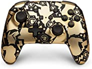 任天堂切換有線控制器 Wireless Nintendo Switch Controller Pikachu Gold