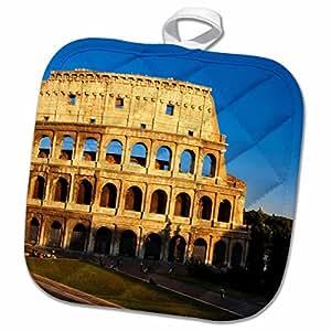 3D Rose Stone Arch Becci De Cuganesi-San Gimignano-Italy-Eu16 Mgl0074-Miva 汤锅架,20.32 x 20.32