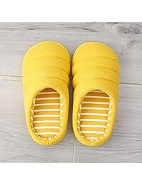 夷榀 儿童棉拖鞋秋男童软底室内防滑女宝宝小孩1-3岁5居家鞋亲子拖鞋冬
