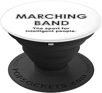 Marching Band Sport PopSockets 手机和平板电脑握架260027  黑色
