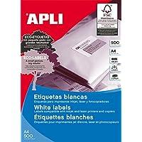 APLI 10558 永久标签 48.5 × 25.4 毫米 500 张