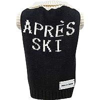 max bone:Après 滑雪针织套衫 - 5 种尺寸可选 - 时尚狗狗毛衣适合寒冷天气 - 柔软纱线设计,舒适合身,保护功能 - 可水洗 大