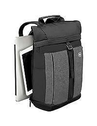Wenger 背包带平板电脑口袋 笔记本电脑 - 黑色