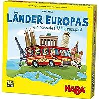 HABA 304532 - 歐洲國家,令人興奮的歐洲冰淇淋,適合 8 – 99 歲的2-4 名玩家。