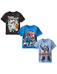 Transformers Boys' Boys Assorted Tee 3-Pack