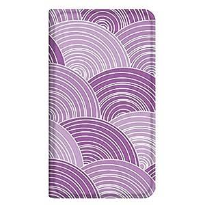 智能手机壳 手册式 对应全部机型 薄型印刷手册 cw-311top 套 手册 鳞 极薄 轻量 UV印刷 壳WN-PR173389-L Galaxy S6 edge Plus 图案 A