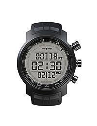 Suunto 颂拓 Ditital Watch elementum Terra 黑色橡胶手表