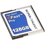 Super Talent Cfast 专业卡 16GB 可靠 MLC 或 SLC NAND 类型 Flash (FDM016JMDF) FDM128JMDF 128 GB