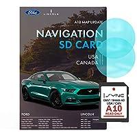 Ford Lincoln A10 导航 SD 卡 | 2019 *新* | Ford 导航卡 美国和加拿大的