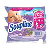 Soupline 薰衣草织物柔顺剂 淡紫色 3 x 200 ml