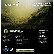GARMIN huntview 地图卡
