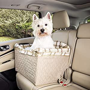 Solvit Tagalong Pet Booster Seat, Deluxe 灰褐色 特大号