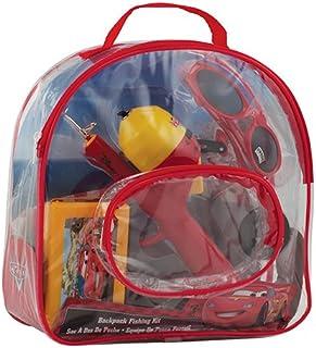 Shakespeare 青年钓鱼背包套件 Disney 汽车总动员 中
