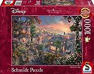 Schmidt Thomas Kinkade:迪士尼 - 女士和越野拼图(1000 片)