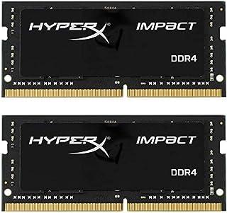 Kingston Technology HyperX Impact 16GB (2 x 8G) 204-Pin DDR3 SO-DIMM DDR3L 1600 MHz (PC3L 12800) Laptop Memory Model HX316...