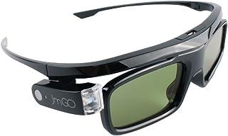 JmGO HGL1 Active 3D 眼镜 DLP-Link 液体水晶快门可充电 3D 眼镜 适用于所有 DLP 技术 3D 投影机