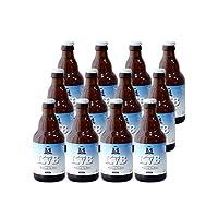 布雷帝国 比利时啤酒 比利时进口啤酒KVB布雷帝国白啤酒每瓶330ml 清新柠檬味 (12瓶装)