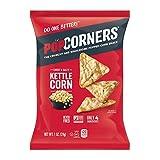 POPCORNERS Sweet & Salty Kettle Corn Popped Corn Snacks, Gluten Free, Non-GMO, Single-Serve 1oz bags (Pack of 40)