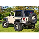 Rugged Ridge XHD 软顶 07-09 Jeep 牧马人 Jk 黑色 13736.01