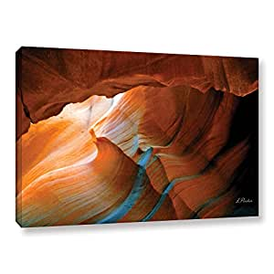 ArtWall Linda Parker's Slot Canyon V Gallery-Wrapped Canvas Artwork, 24 by 36""