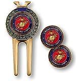 armed Force Depot U.S. Marine Corps 球叉和球位标