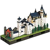 nanoblock Schloss Neuschwanstein 哥特式城堡 拼插玩具 豪华版本