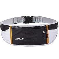 RIMIX 多功能LED能量源版三袋跑步腰包 户外运动马拉松跑步包手机包 支持6.3寸以下手机