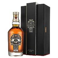Chivas Regal 芝华士 25年苏格兰威士忌 700ml(英国进口)(亚马逊自营商品, 由供应商配送)