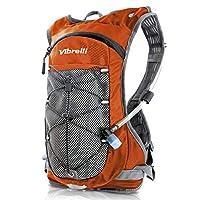 Vibrelli 水合包和2升水袋 - 高流量咬阀水合背包