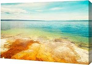 "PrintArt GW-POD-11-PSMUR-297-20x13""Lakeside Runoff"" 由 Roberta Murray 创作画廊装裱艺术微喷油画艺术印刷品 12"" x 8"" GW-POD-11-PSMUR-297-12x8"