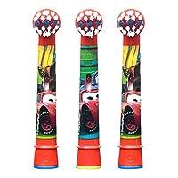 Oral-B 欧乐B EB10-3K儿童电动牙刷头三支装(疯狂赛车图案)