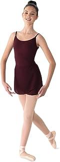 Bloch Mirella 女式乔其纱裹身舞裙,*红色,均码