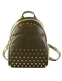 Michael Kors 迈克高仕 Abbey 中号铆钉皮革背包 适合工作学校办公室旅行