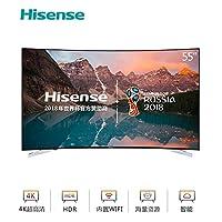 Hisense 海信 LED55E7C 55英寸 4K超高清 网络曲面智能电视 丰富影视教育资源