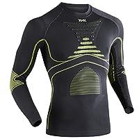 X-BIONIC 聚能加强系列 男士 聚能加强运动功能服速干压缩长袖衫 8300783463705