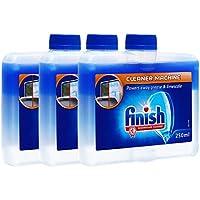 finish 洗碗机机体水垢油污清洁剂250ml*3(进口)(亚马逊自营商品, 由供应商配送)