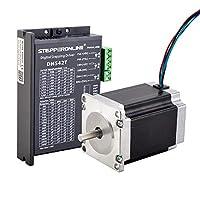 STEPPERONLINE 1 轴步器 CNC 套件 1.9Nm(269oz.in) Nema 23 步进电机 + 1.0-4.2A 20-50VDC 步进驱动器