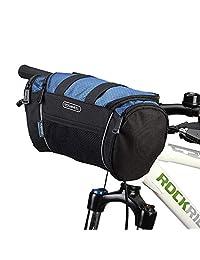 Lixada 自行车前篮 可折叠 可拆卸自行车 车把 篮子 宠物猫 狗背带 框架袋(选填)