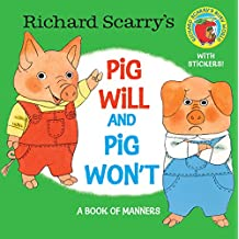 Richard Scarry's Pig Will and Pig Won't (Pictureback(R)) (English Edition)