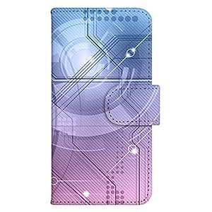 智能手机壳 手册式 对应全部机型 印刷手册 wn-568top 套 手册 图形艺术 UV印刷 壳WN-PR061442-MX AQUOS Xx2 502SH B款