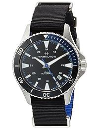 [哈密尔顿]HAMILTON 手表 卡其*蓝 机械式自动上弦 H82315931 男式 【正规进口商品】